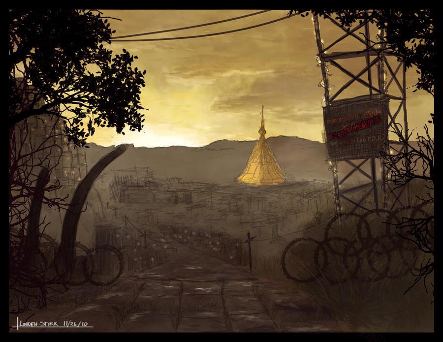 Golden Pagoda - Concept Env. by CGStirk