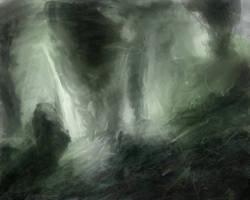 grean grotto by Blunaa