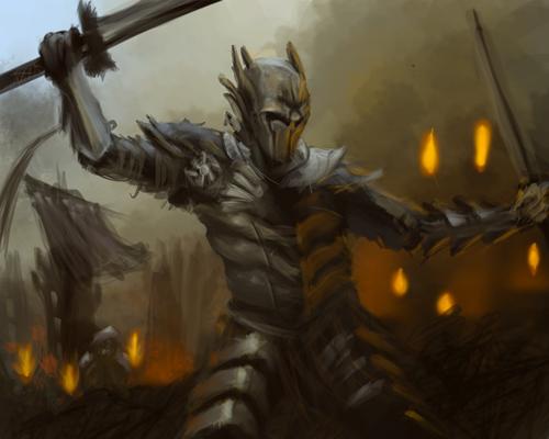 warrior by Blunaa