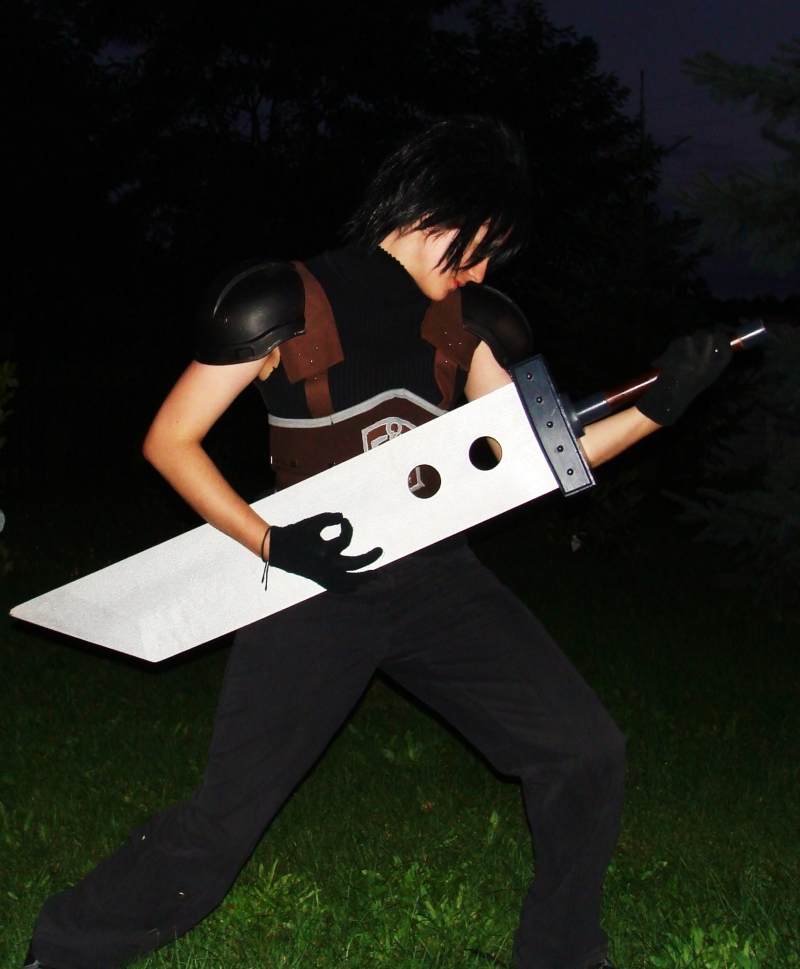 Zack Fair Guitar Hero by ZaxCosplay