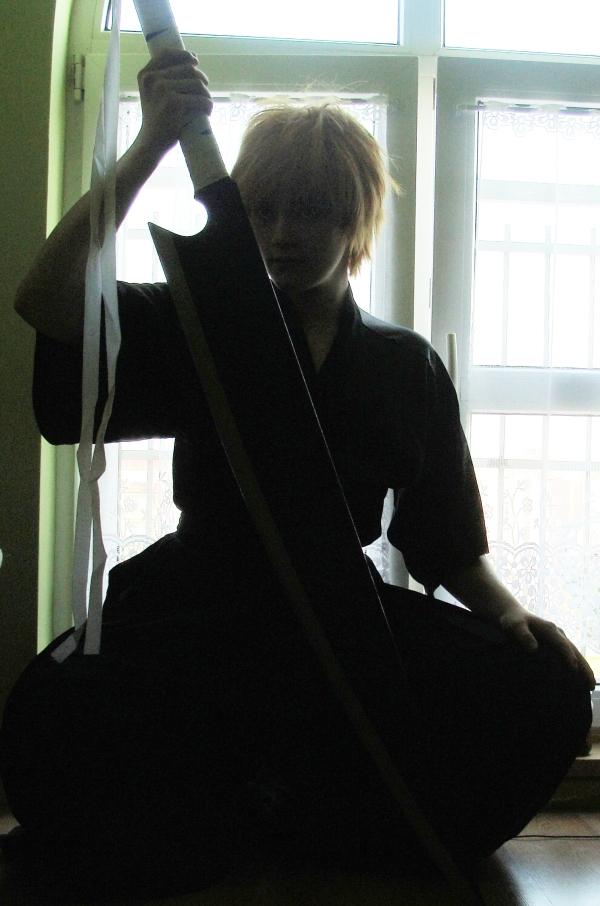 Ichigo Kurosaki cosplay test by ZaxCosplay
