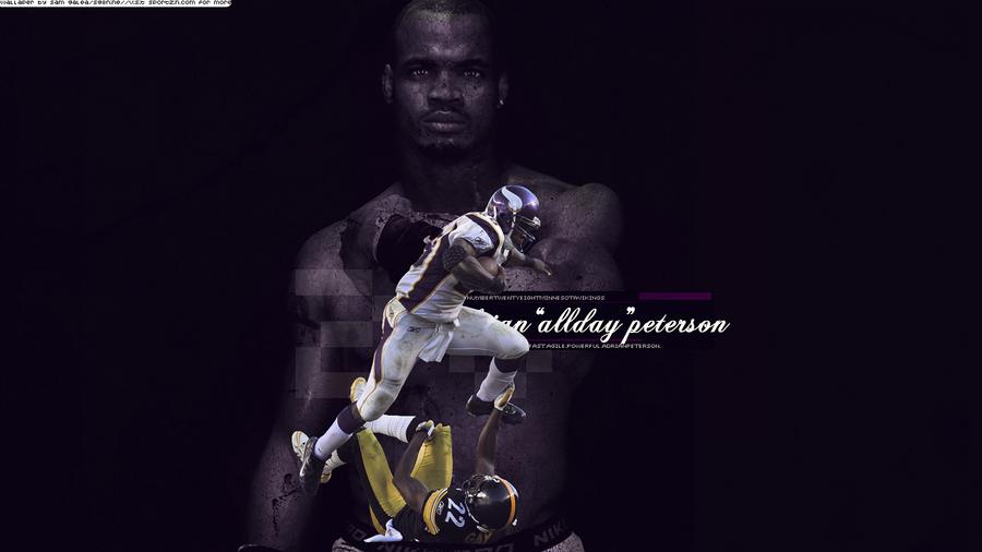 Adrian 'All Day' Peterson. by sportzinsomnia on deviantART