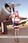 Roxie gets wings