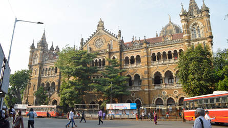CST Local Train Station