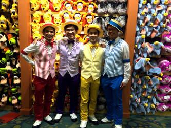 Dapper Dans at Disney