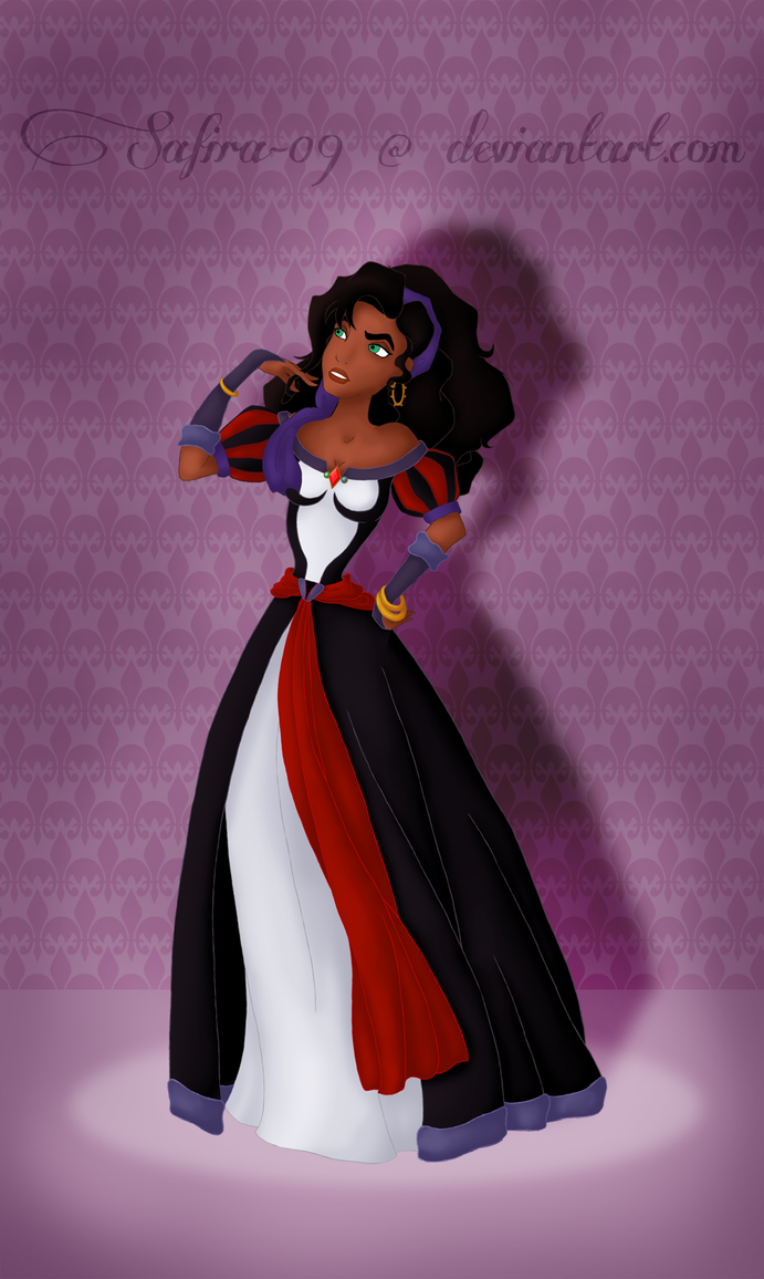 New Villain Heroine Esmeralda by Safira-09