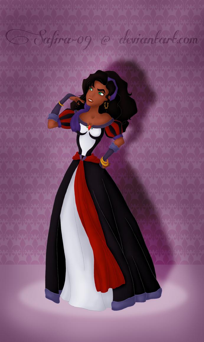 New Villain Heroine Esmeralda by SummersWorld