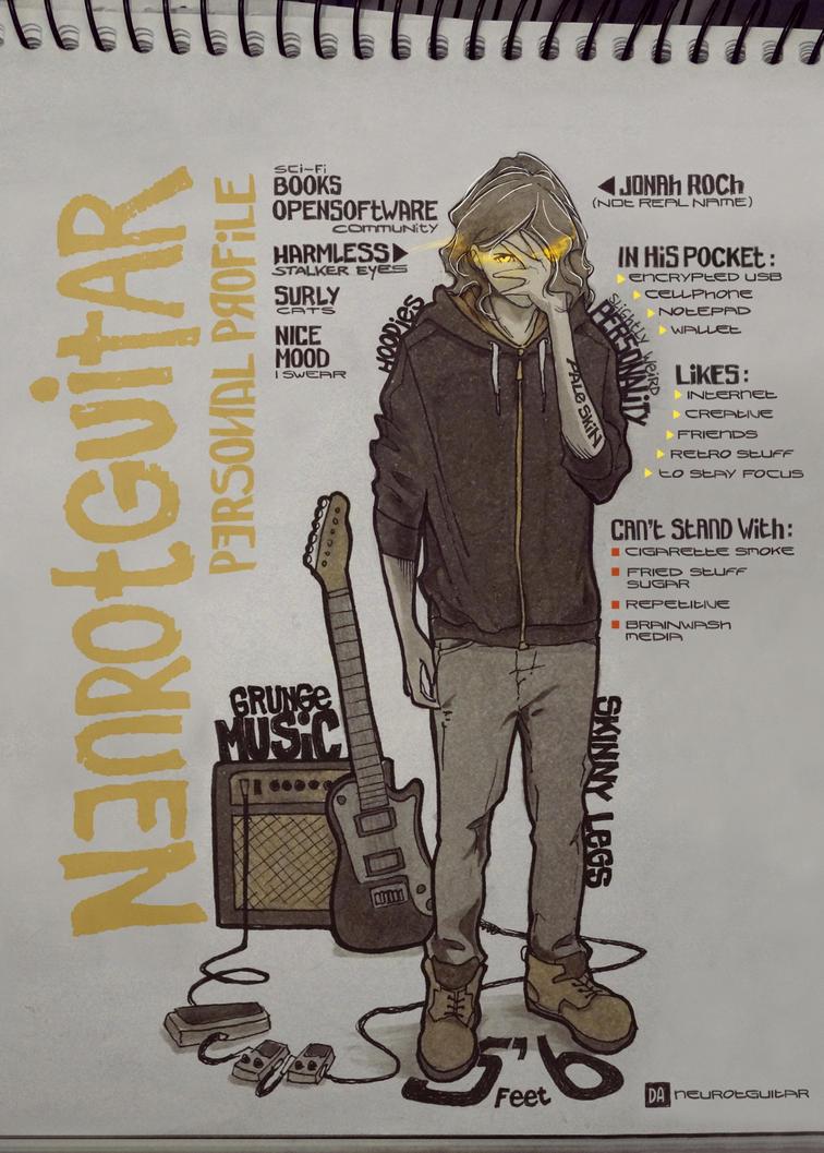 meet the non-artist - NG by neurotGuitar