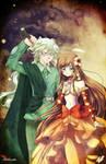 Haku and Martha /// Mermaid Melody OCs