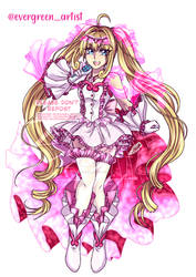 Pink Harmony Pearl Voice! -- Luchia by EVERGREEN