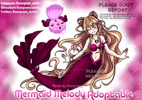 (CLOSED) Mermaid Melody Adopt by Evergreen