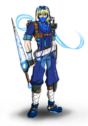 Strider Aozora for Superjustinbros by punkbot08