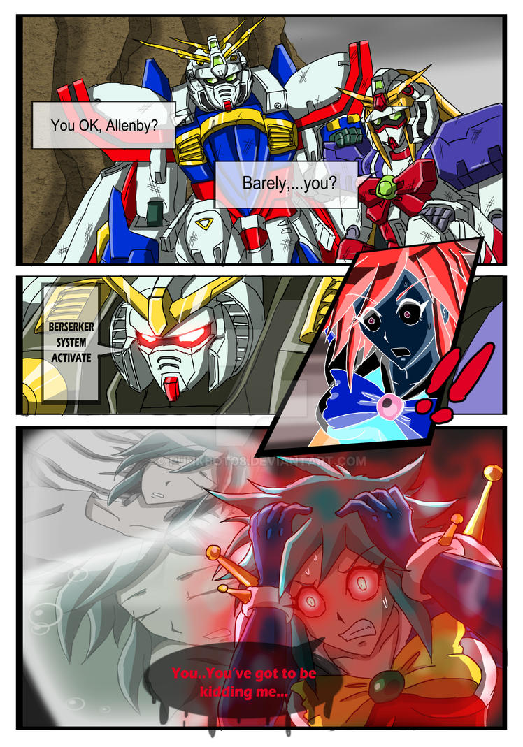 Commission - G Gundam X Power Rangers - Page 2 by punkbot08