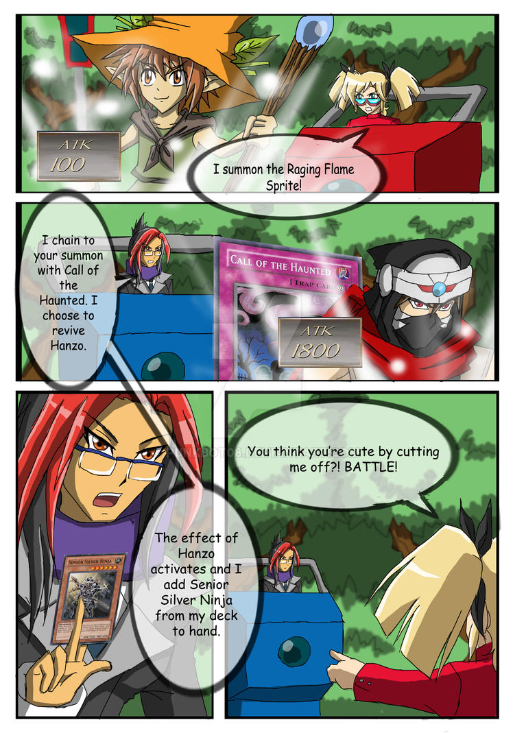 YGO Doujin Bonus Chapter - Wally's Agent - Page 19 by punkbot08