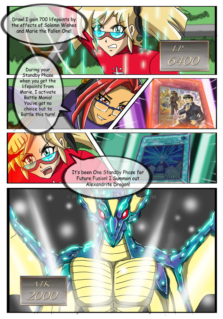 YGO Doujin Bonus Chapter - Wally's Agent - Page 24 by punkbot08