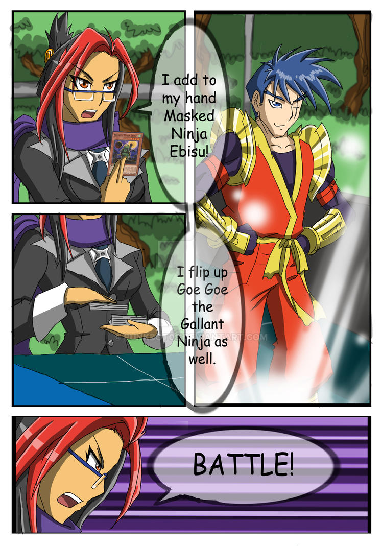 YGO Doujin Bonus Chapter - Wally's Agent - Page 29 by punkbot08