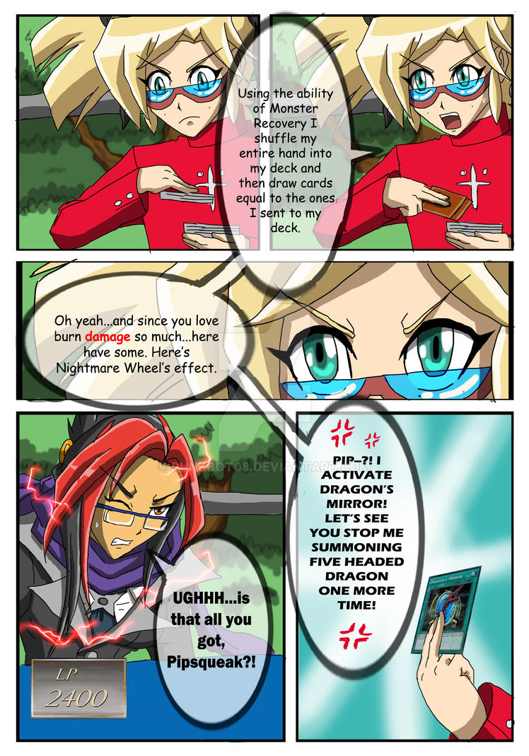 YGO Doujin Bonus Chapter - Wally's Agent - Page 37 by punkbot08