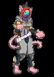 Strider Tora as Amethyst Cat by punkbot08