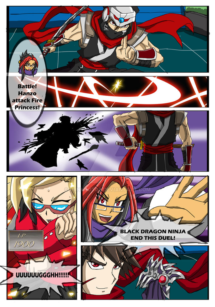 YGO Doujin Bonus Chapter - Wally's Agent - Page 44 by punkbot08