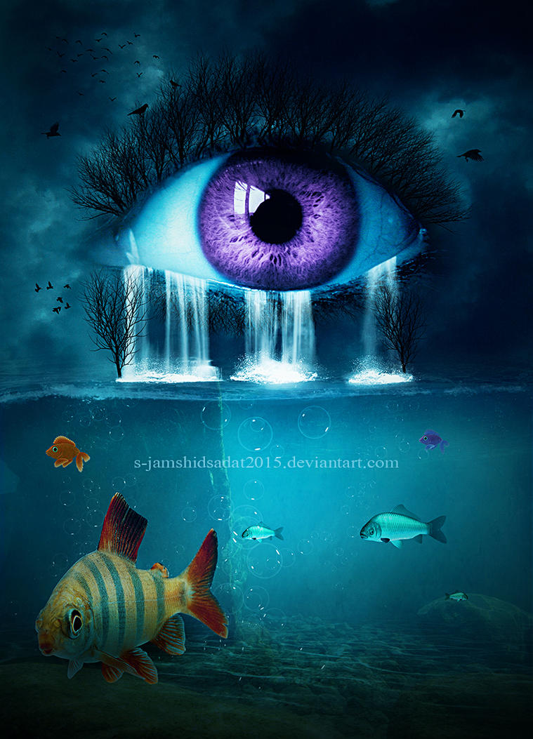 The Waterfall EYE by S-JamshidSadat2015