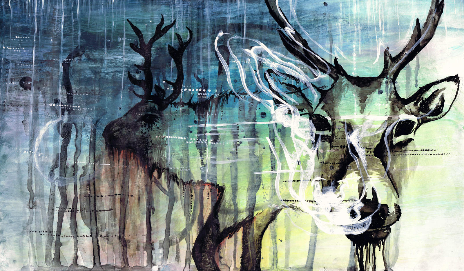 Elk by HannaMPetrick