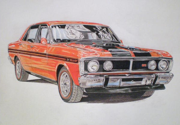 Ford Falcon Xy Gtho Phase  By Domrexsin