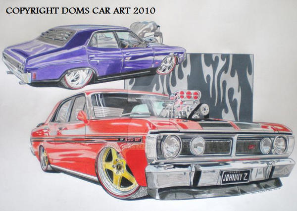 falcon xa and xy gt s 351 ford by domrexsin on deviantart rh deviantart com Ford Falcon XR Ford Falcon xB GT