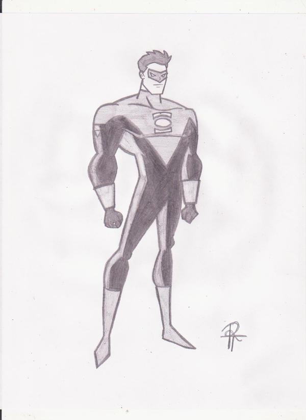 GL: Kyle Rayner Sketch by rob-T512