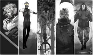 Metal Gear Scribbles by arok318