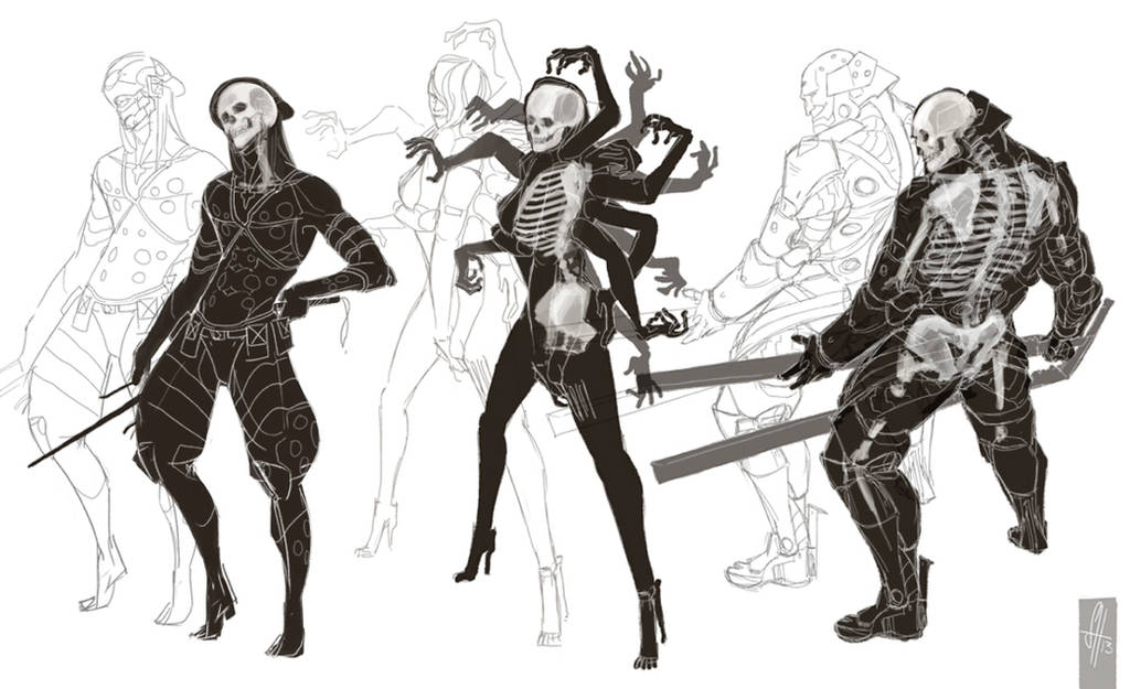 Metal Gear Rising BONES by arok318