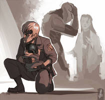 MGS - Brother and Sister by arok318