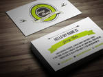 Creative Retro Business Card 2