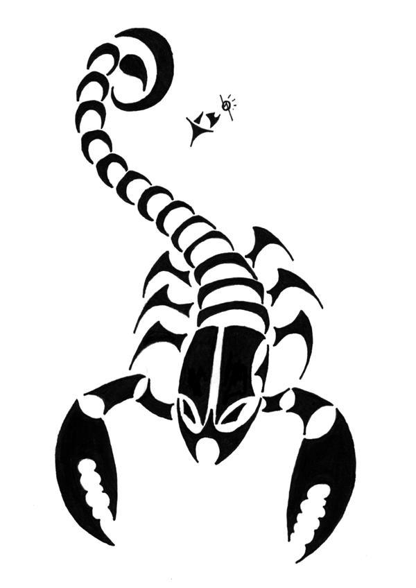Scorpion Tattoo - 1 by ~Fleech-Hunter on deviantART