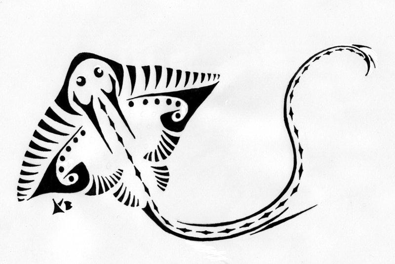 Stingray Tattoo by ~Fleech-Hunter on deviantART