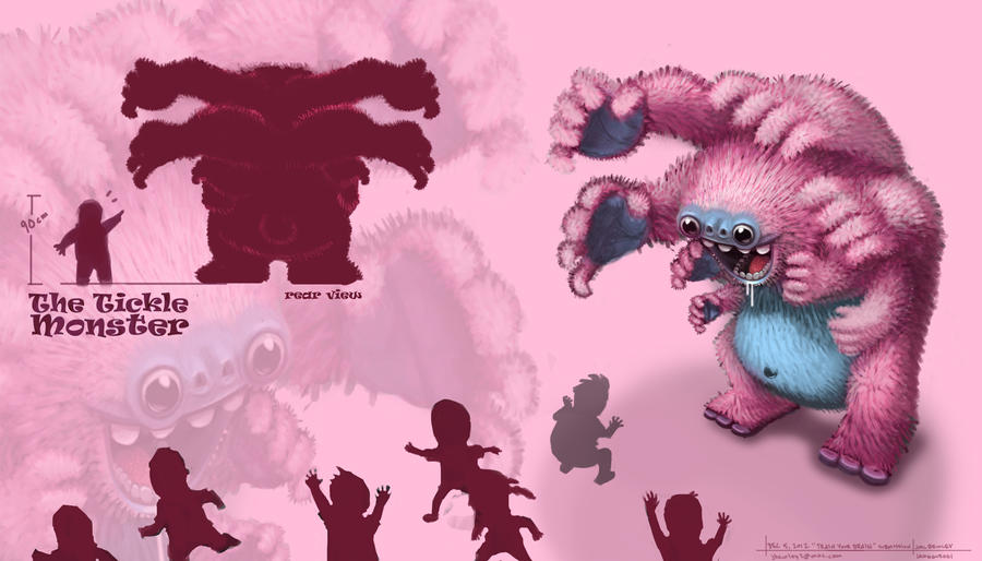 the_tickle_monster_by_jamggurogi-d5n6qyh