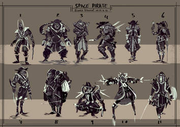 Space pirate by BiwerVincent