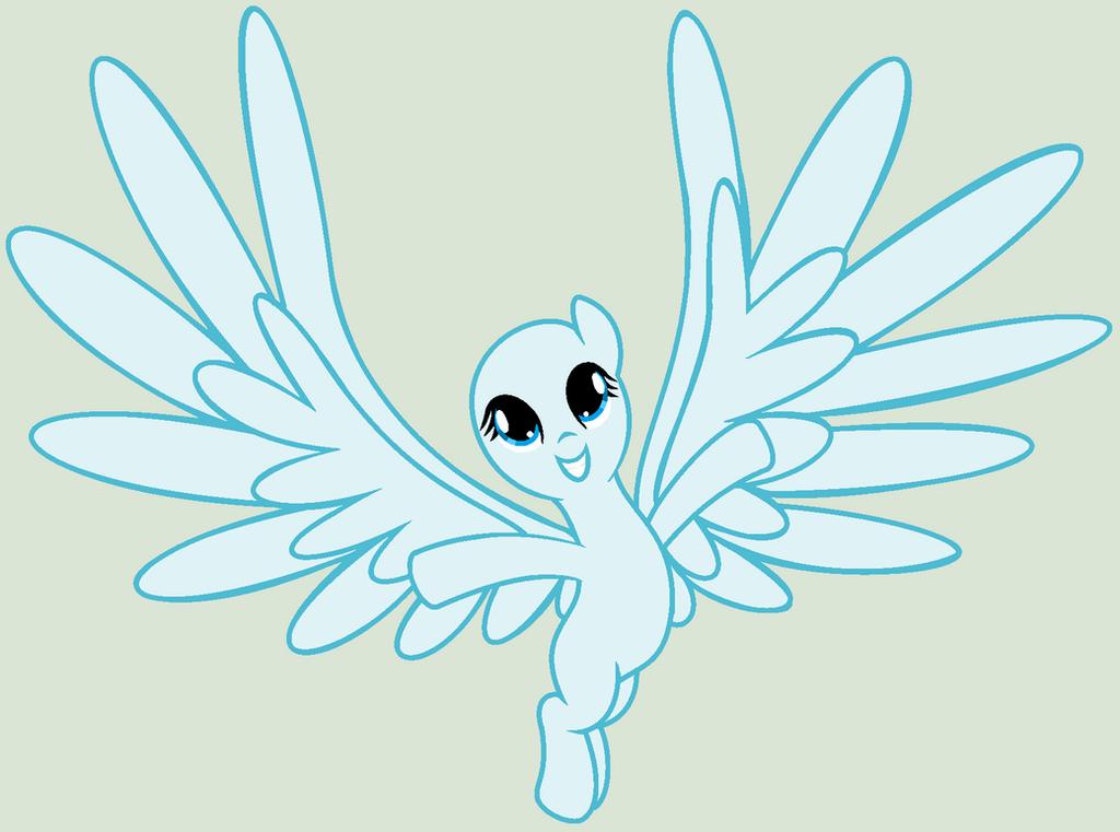 mlp pegasus wings base