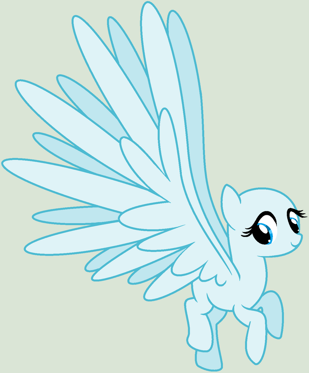 my little pony bases pegasus wings images