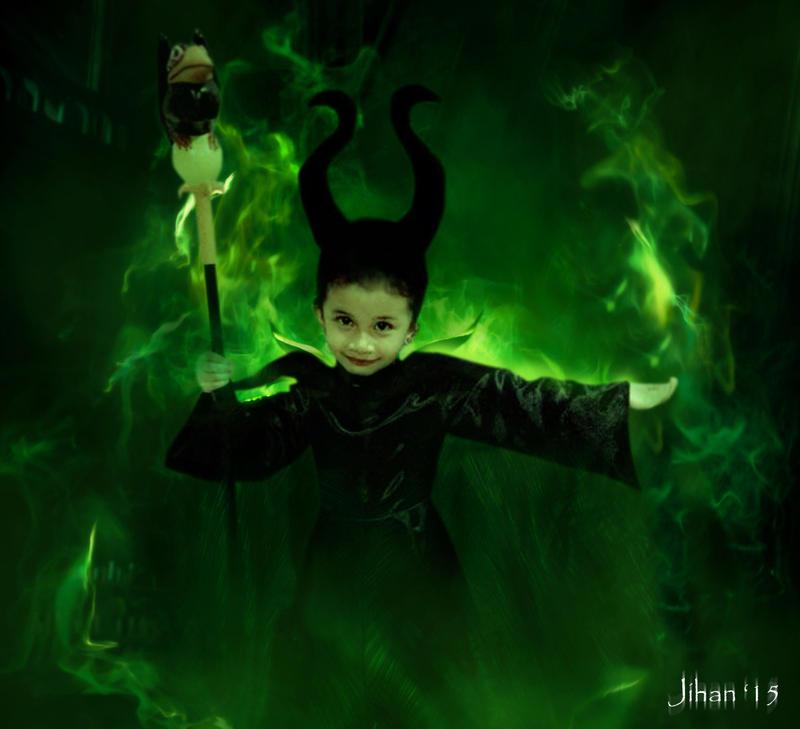 Little Maleficent by Sakura060277