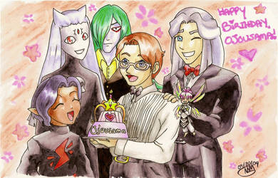 Happy Birthday Ojousama by sonicgirl11