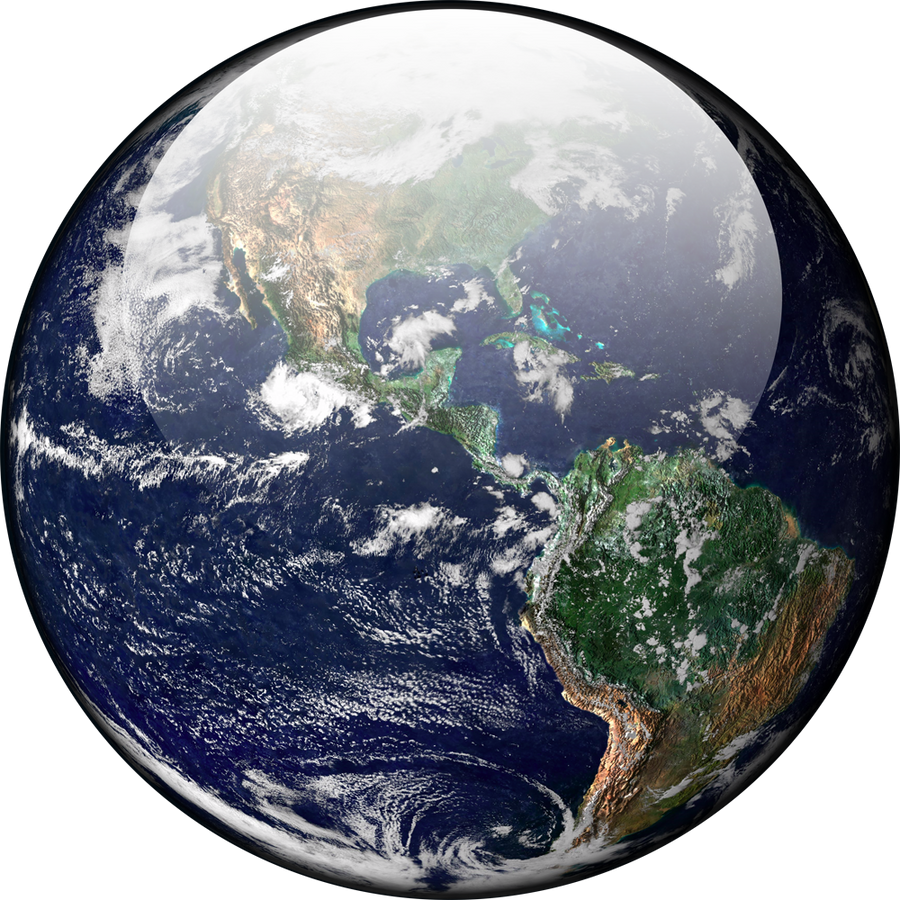 Google Earth Wallpaper: Earth High Res Orb By Climber07 On DeviantArt