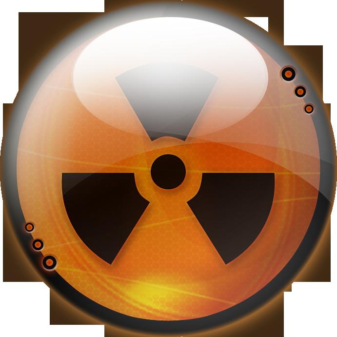 Radioactive logo png