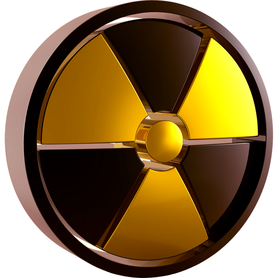 Radiation Symbol 3d Yellow Dock Icon By Climber07 On Deviantart
