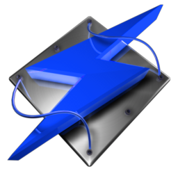Winamp Tech Blue Dock Icon by climber07Winamp Icon Blue