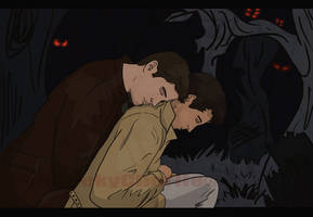 SPN- Waiting in Purgatory by chibiCharlie-chan