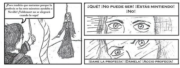 Harry vs. Bellatrix by JuanPabloA1987