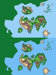 Athozia - Pathfinder Map
