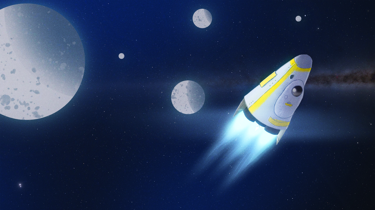 Pod Spaceship by MikeMovies