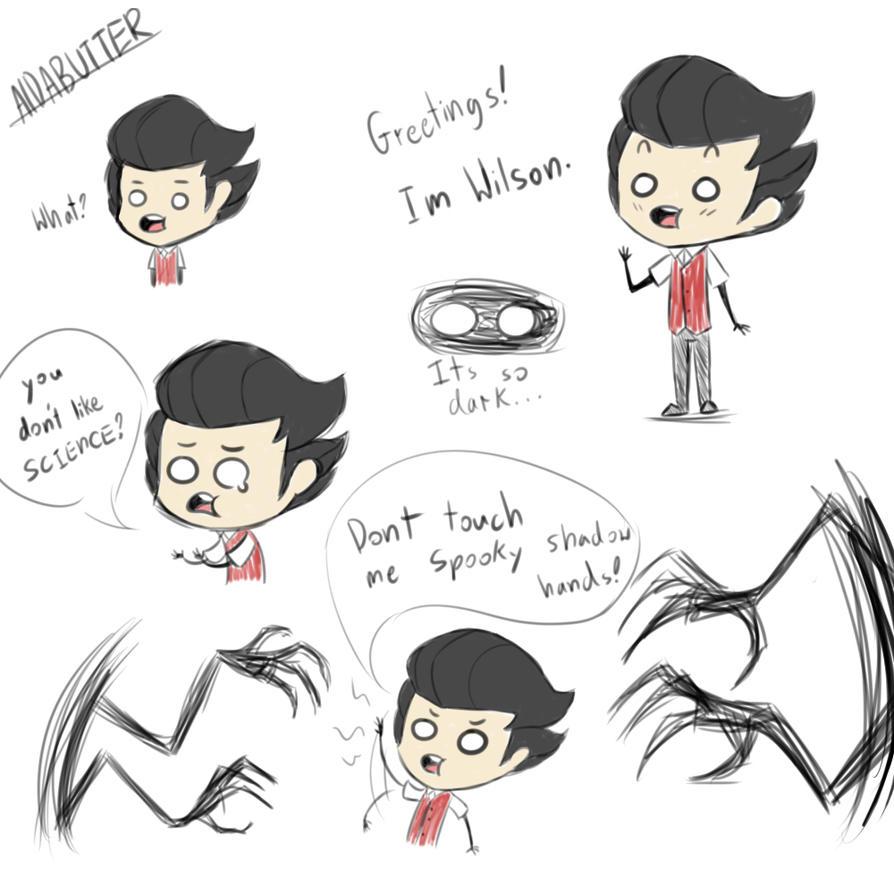 Wilson Doodles 2 by xXaldabutterXx