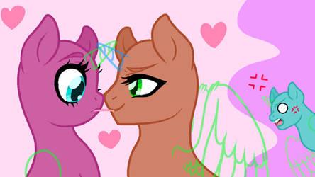 (Gay added) Jealousy and Pocky - Pony Base 21